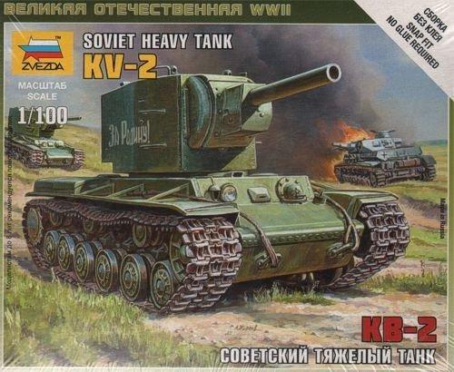 ZVEZDA KV-2 Heavy Soviet Tank