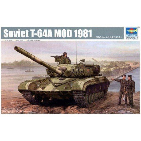 TRUMPETER T-64AV mod 198 4