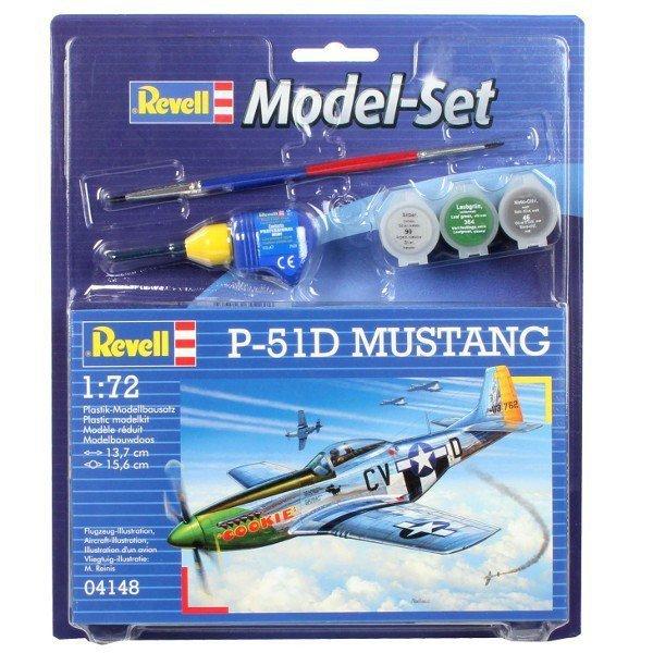 REVELL Model Set P-51 D Mustang