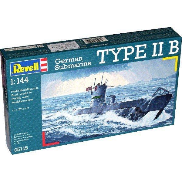 REVELL German Submarine TYPE IIB