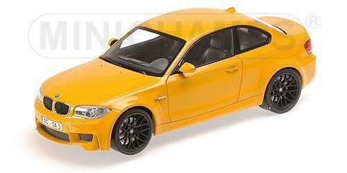 BMW 1er M Coupe 2011 (yellow)