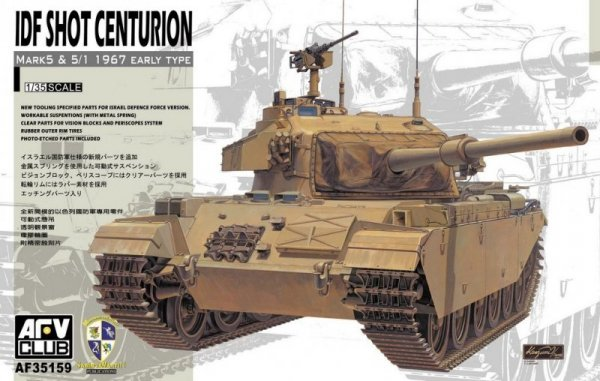 AFV IDF Centurion Mk.5 ( six day war)