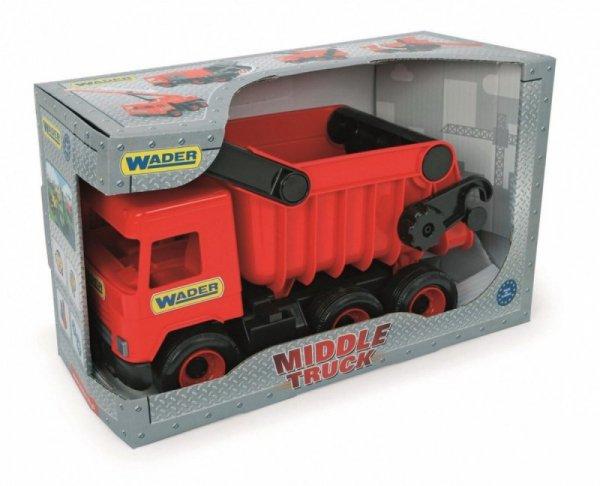 Wywrotka czerwona Middle Truck w kartonie