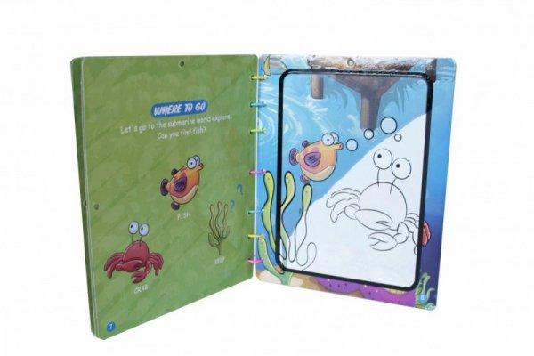 Książeczka z pisakiem wodnym - Zoo