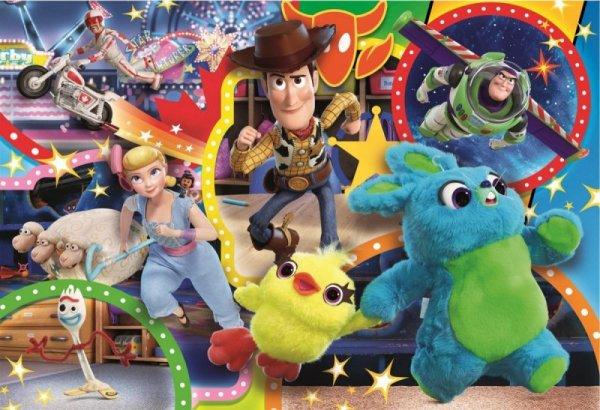 Puzzle 104 elementy Maxi Super Kolor Toy Story 4
