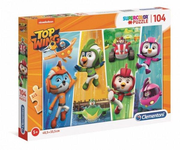 Puzzle 104 elementy Super Kolor Top Wing