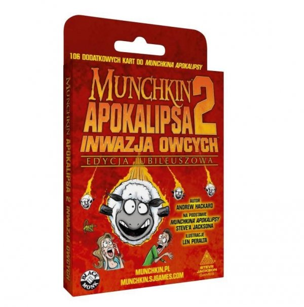 Gra Munchkin Apokalipsa 2 Edycja Jubileuszowa