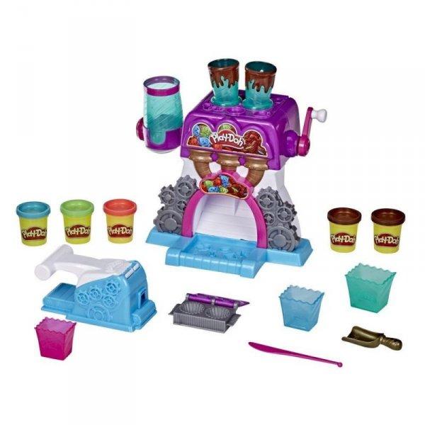 Zestaw z masą plastyczną PlayDoh Fabryka czekolady
