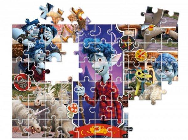 Puzzle 60 elementów Super Kolor Onward