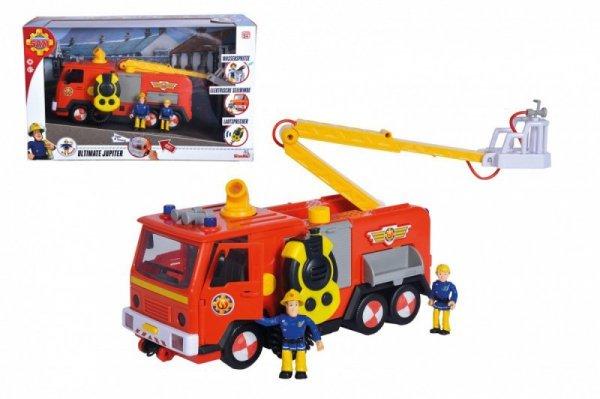 Pojazd Strażak Sam, Jupiter Mega Deluxe z 2 figurkami