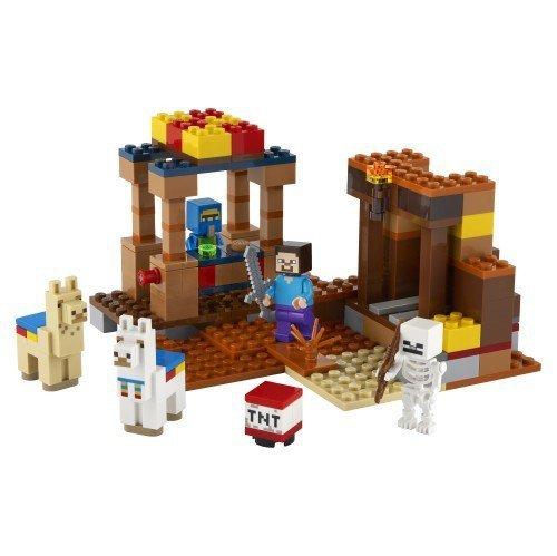 Klocki Minecraft 21167 Punkt handlowy