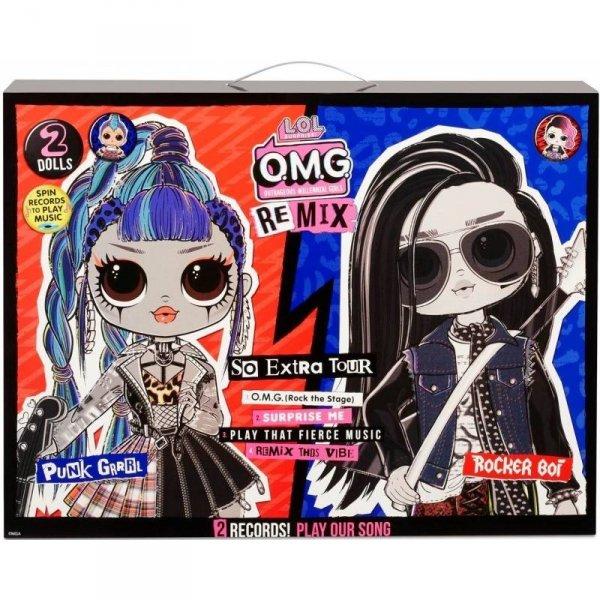 Lalki L.O.L. Surprise OMG Remi x 2-pack