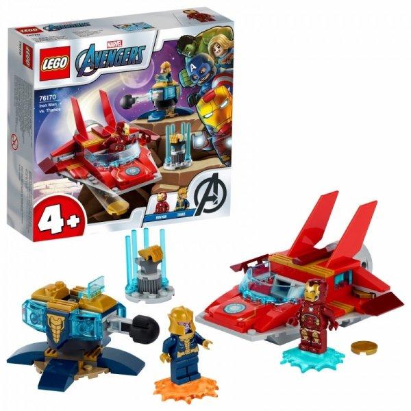 Klocki Super Heroes 76170 Iron Man kontra Thanos