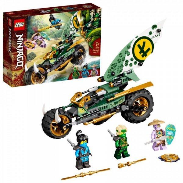 Klocki Ninjago 71745 Dżunglowy chopper Lloyda