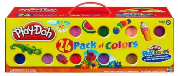 Masa plastyczna PlayDoh Tuby 24-pak