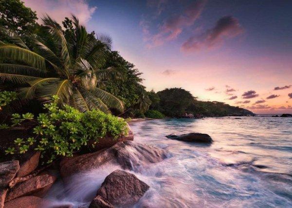 1000 EL. Wyspa Praslin Seszele