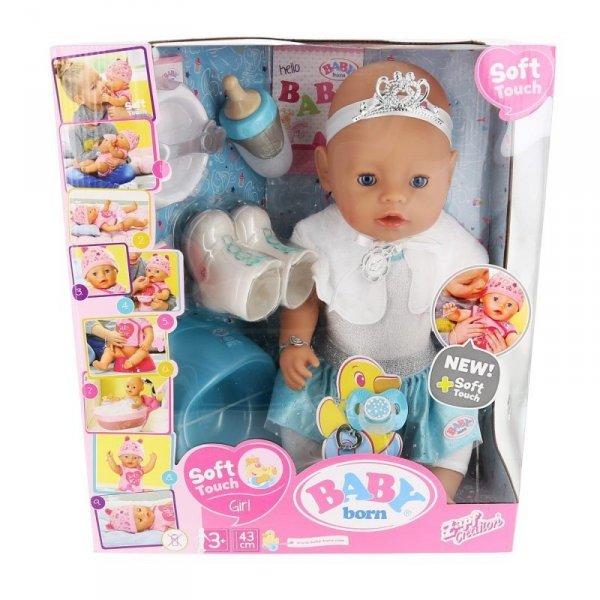 Lalka BABY BORN Soft Touch Ice Ballerina 43cm