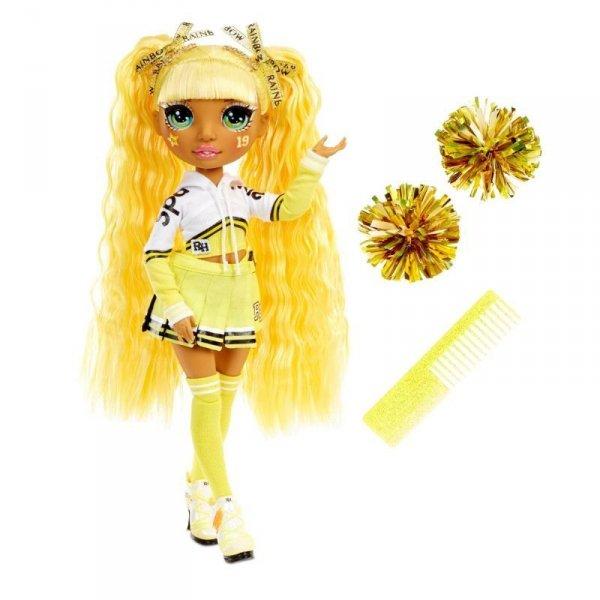 Lalka RAINBOW High Cheer Doll, Sunny Madison