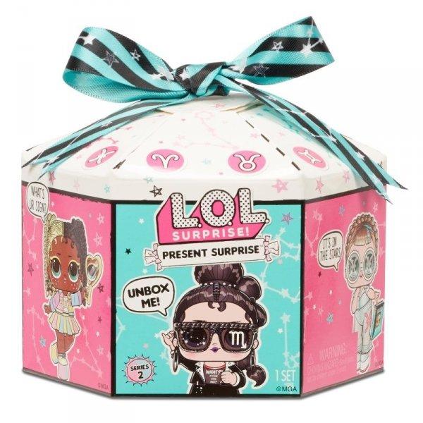 Laleczka L.O.L. Present Surprise Tots, display 12 sztuk