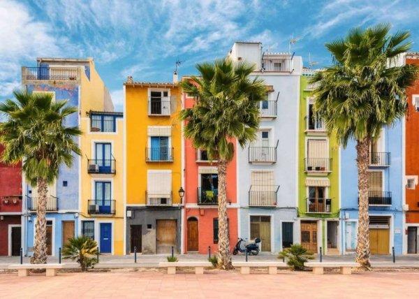 Puzzle 1000 elementów Środziemnomorska Hiszpania