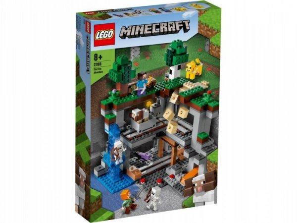Klocki Minecraft 21169 Pierwsza przygoda