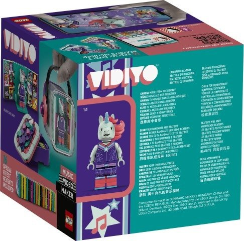 Klocki VIDIYO 43106 Unicorn DJ Beatbox
