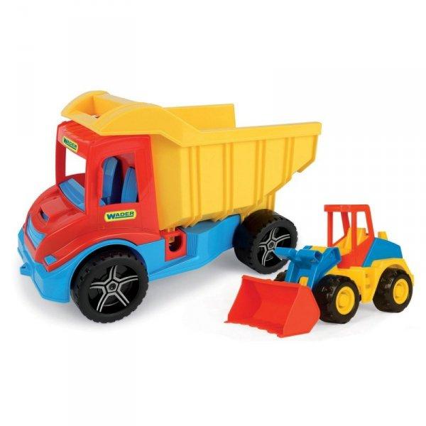 Pojazdy Multi truck z koparką