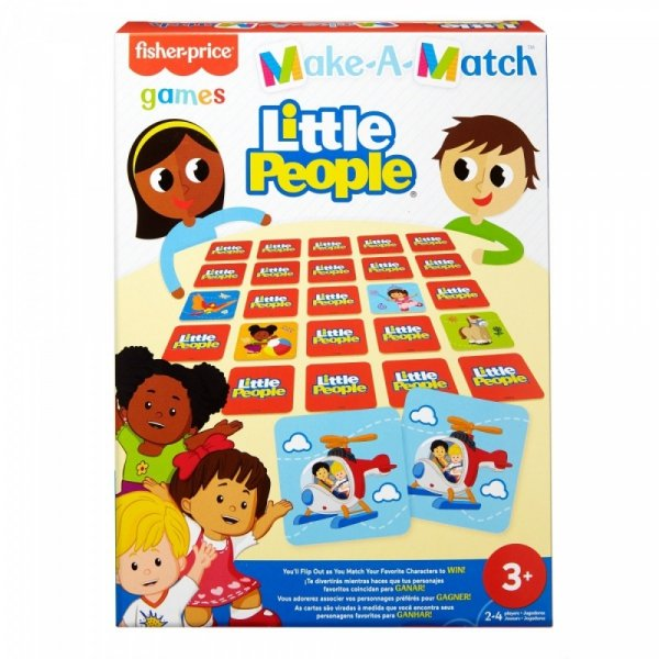 Memory Gra dla dzieci Little People