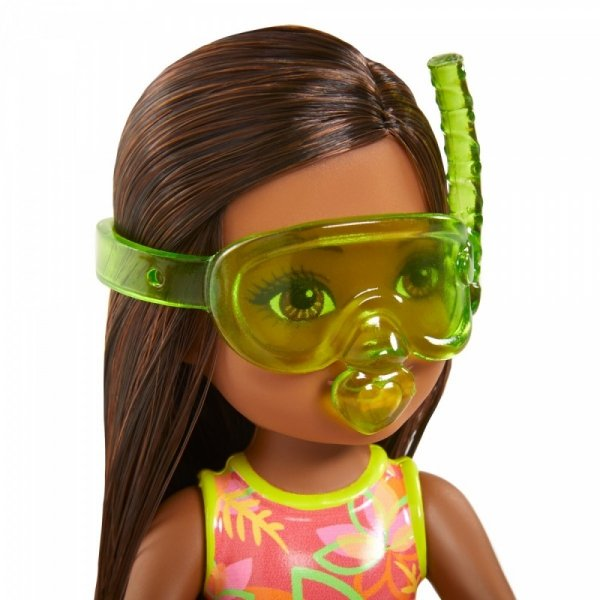 Lalka Barbie Chelsea Wakacyjna Brunetka