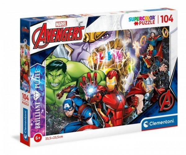 Puzzle 104 elementy Marvel