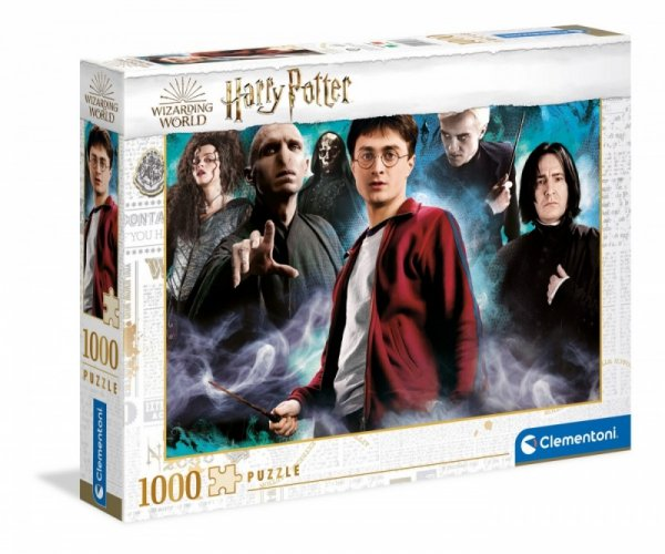 Puzzle 1000 elementów Harry Potter