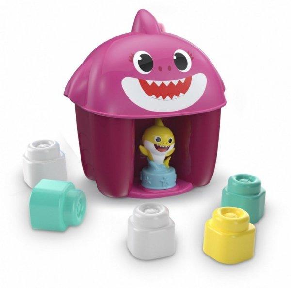 Wiaderko Baby Shark klocki z figurką