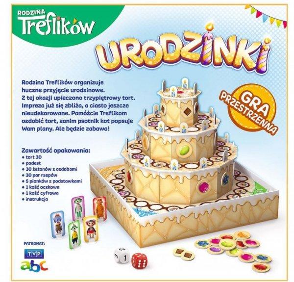 Gra Urodzinki Rodzina Treflików