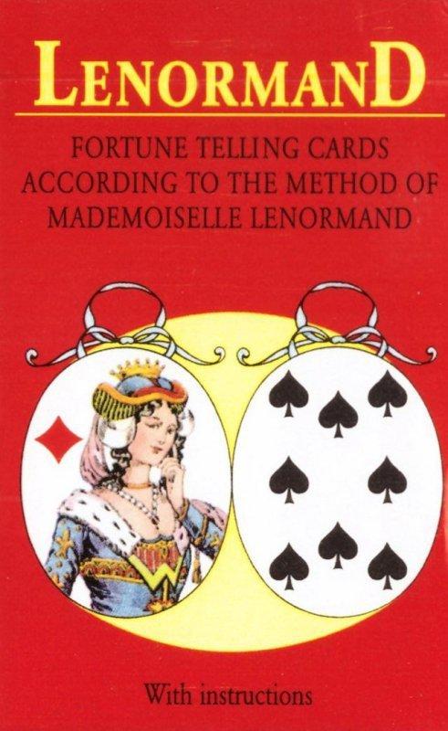 Karty Tarot Mlle Lenormand GB