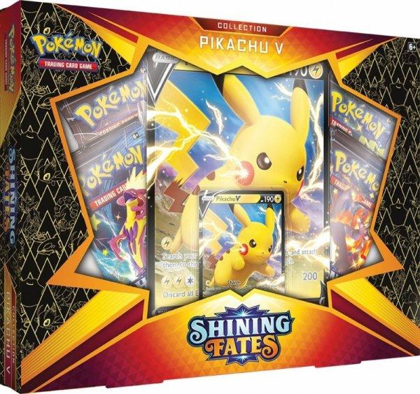 TCG Shining Fates Box Picachu V