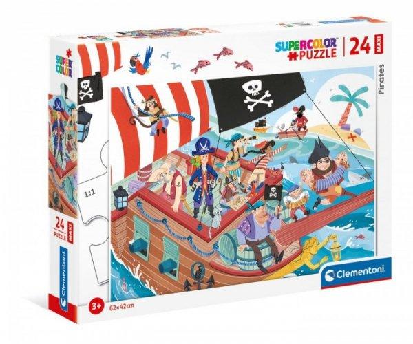 Puzzle 24 elementy Maxi Pirates