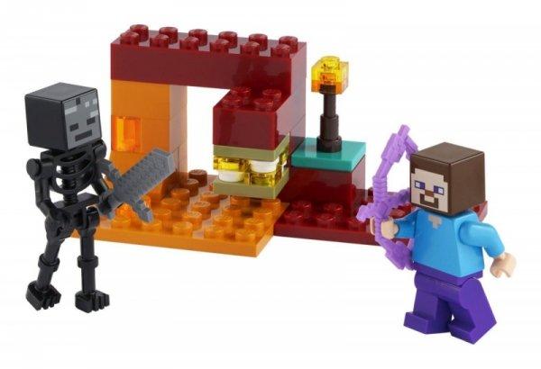 Klocki Minecraft 30331 Pojedynek w Netherze