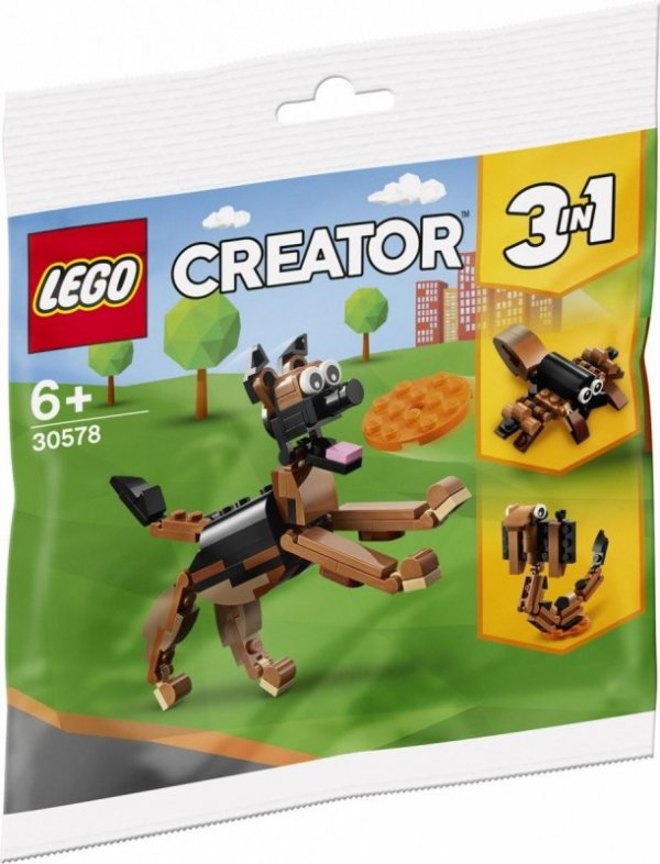 Klocki Creator 30578 Owczarek niemiecki 3w1