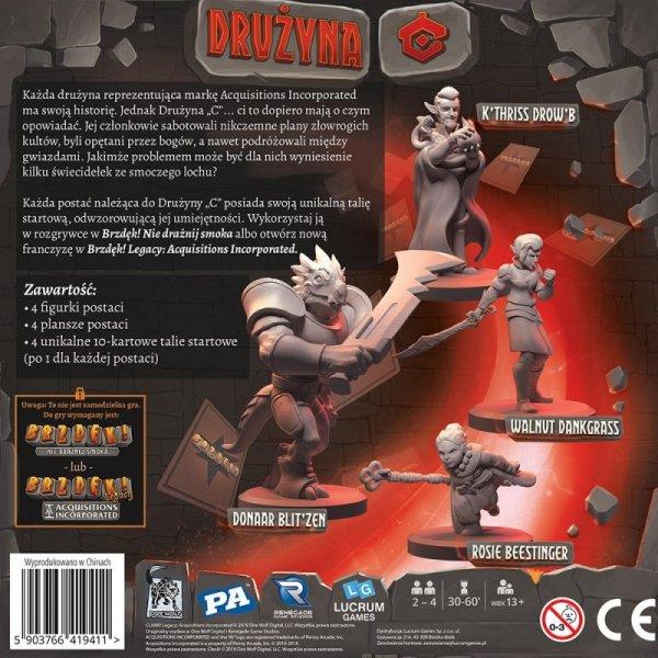 Gra Brzdęk! Legacy Drużyna C