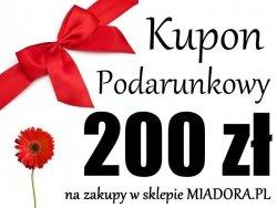 Bon Podarunkowy - 200 zł