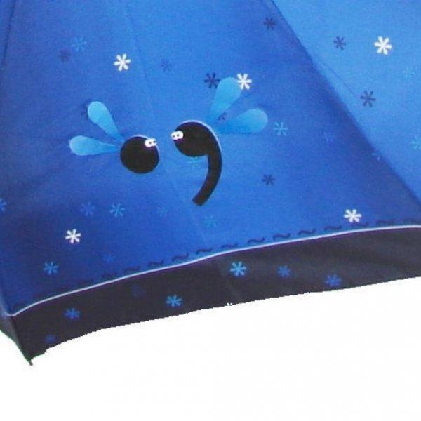 Kropka i przecinek - parasolka damska składana full-auto Zest 23846