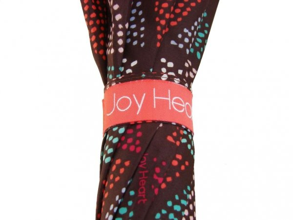 Trójkąty parasol długi Joy Heart 9416