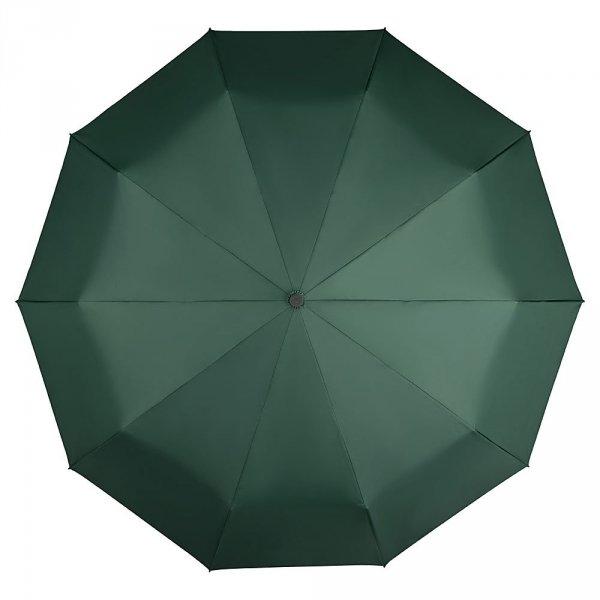 Clark zielony elegancki parasol 10-drutowy w etui Von Lilienfeld