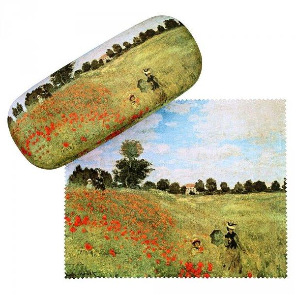 Pole maków Claude Monet - etui na okulary Von Lilienfeld