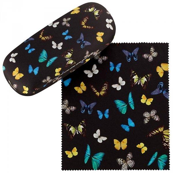 Motyle - etui na okulary Von Lilienfeld