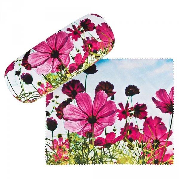 Kwietna łąka - etui na okulary Von Lilienfeld