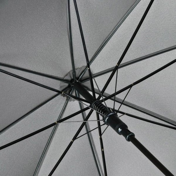 FARE®-Collection elegancki czarny parasol 120 cm