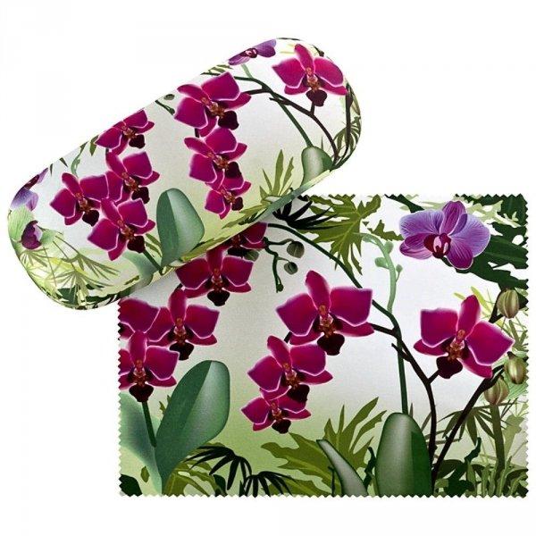 Orchidee - etui na okulary Von Lilienfeld