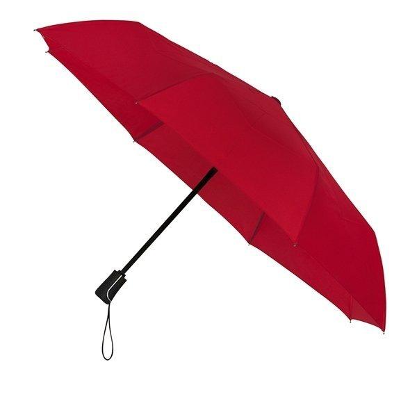 Automatic red uniwersalna parasolka składana full-auto