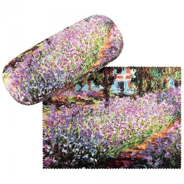 Ogród Claude Monet - etui na okulary Von Lilienfeld